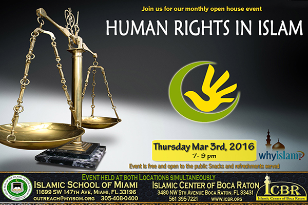Open House Mar 2016 Human Rights in Islam slide