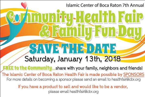 2018 Health Fair Save the Date Slide