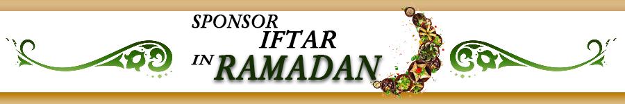 Sponsor Iftar