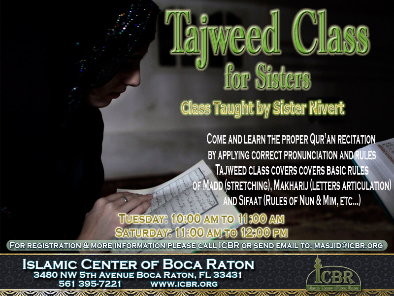 Tajweed Classes for Sisters copy