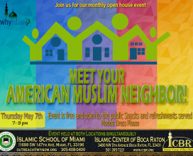 Open House May Meet your Muslim Neighbore