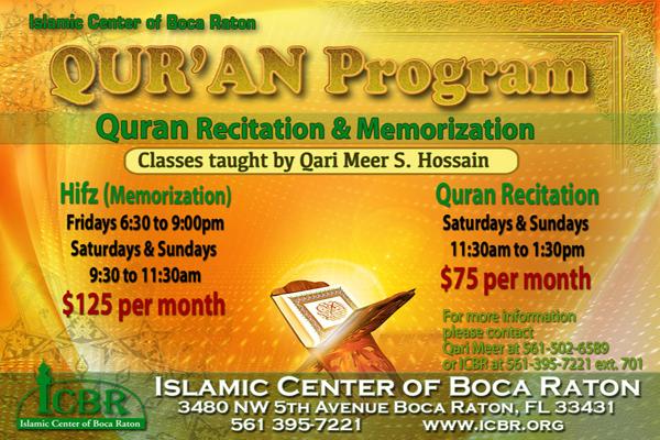 Quran Program slide