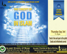 Open House Sep 2015 new Concept of God in Islam copy