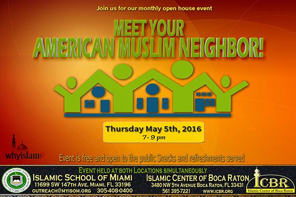 Open House  Meet your Muslim Neighbore May 2016 Slide