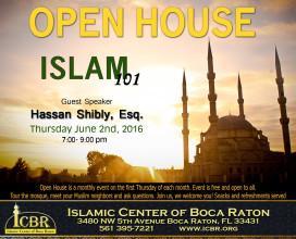 Open House Jun 2016 Islam 101