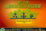 Open House  Meet your Muslim Neighbore May 2016