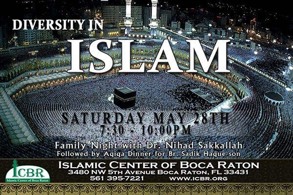 Diversity in Islam slide