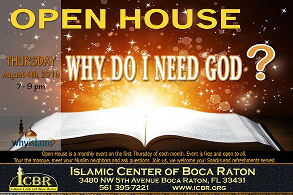 Open House  Why do I need God Aug Slide