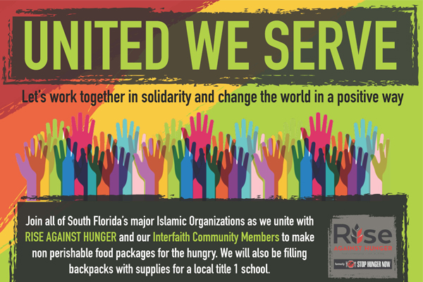 United We Serve Muslim Community New Slide