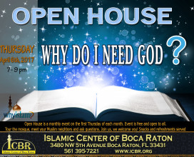 Open House Why do I need God April
