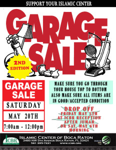 Garage Sale 2017 new second