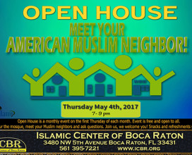 Open House Meet your Muslim Neighbore May 2017 Slide