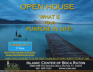 Open House Jun 2017 What is your purpose in life