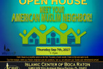 Open House Meet your Muslim Neighbore Sep 2017