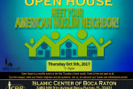 Open House Meet your Muslim Neighbore Oct 2017