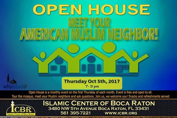 Open House Meet your Muslim Neighbore Oct 2017 Slide