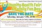 2018 Health Fair Save the Date