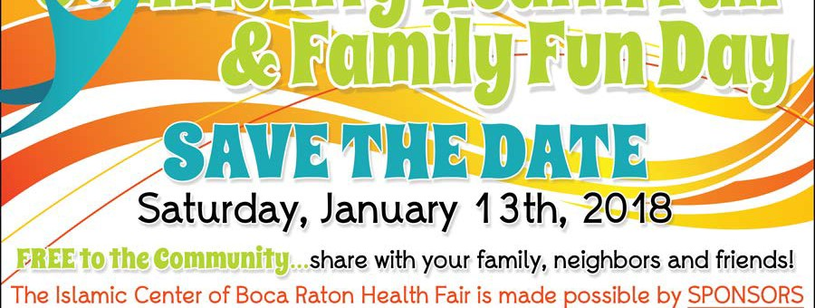 2018 Health Fair Save the Date