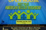 Open House Meet your Muslim Neighbore Jan 2018