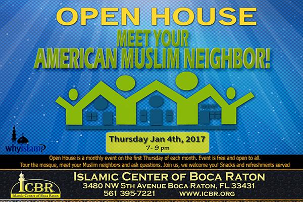 Open House Meet your Muslim Neighbore Jan 2018 Slide