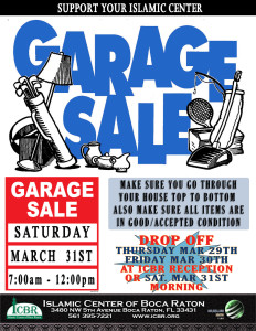 Garage Sale 2018 new second