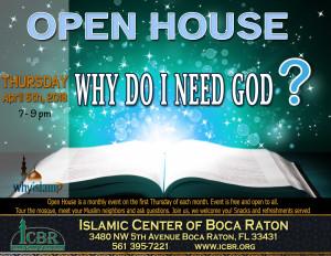Open House Why do I need God April 18